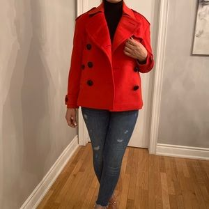 Burberry Wool Cashmere Peacoat